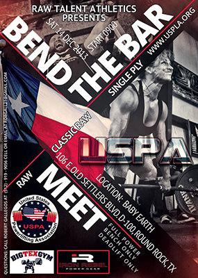 USPA Bend the Bar Texas